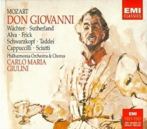 Don Giovanni, performed by the Philharmonia Chorus and Orchestra, conducted by Carlo Maria Giulini.
