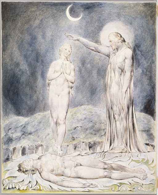 john milton s paradise lost essays resources and links the  the creation of eve by william blake