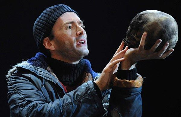 David Tennant as Hamlet.